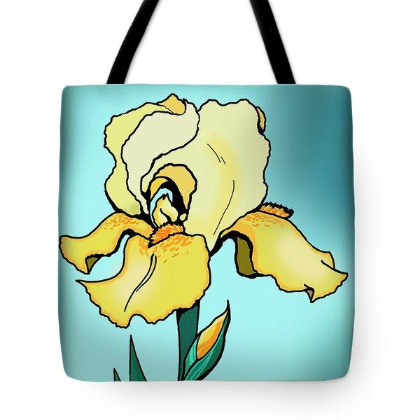 Daytime Iris Tote Bag