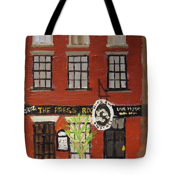 Daytime Press Room Tote Bag