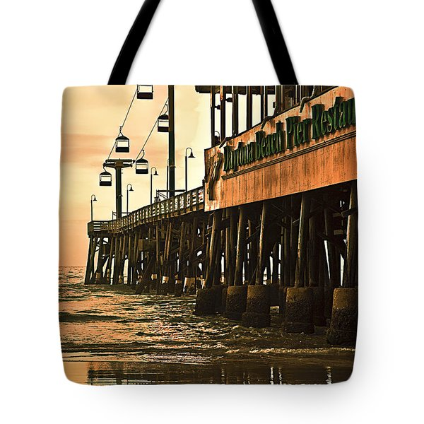 Daytona Beach Pier Tote Bag