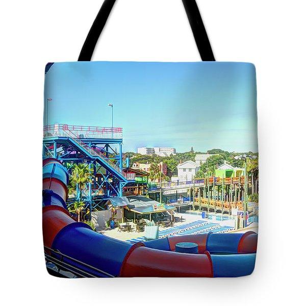 Daytona Lagoon Tote Bag
