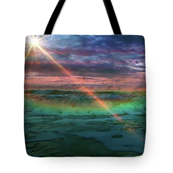 Daytona Rainbow Tote Bag