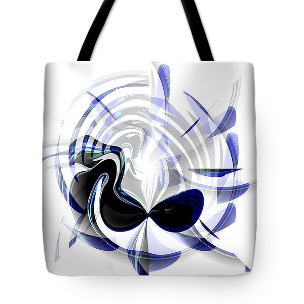 Dazzling Mask Tote Bag by Thibault Toussaint