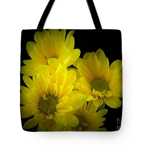 Dazzling Yellow Tote Bag