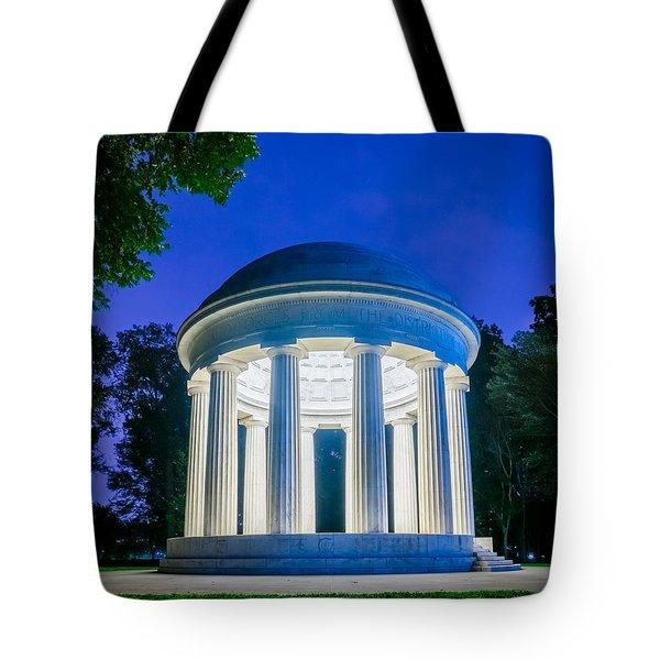 Dc War Memorial Tote Bag