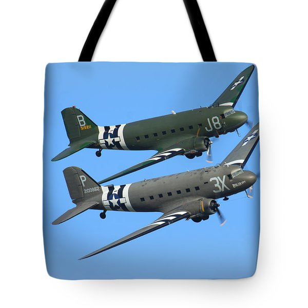 Dc3 Dakota C47 Skytrain Tote Bag