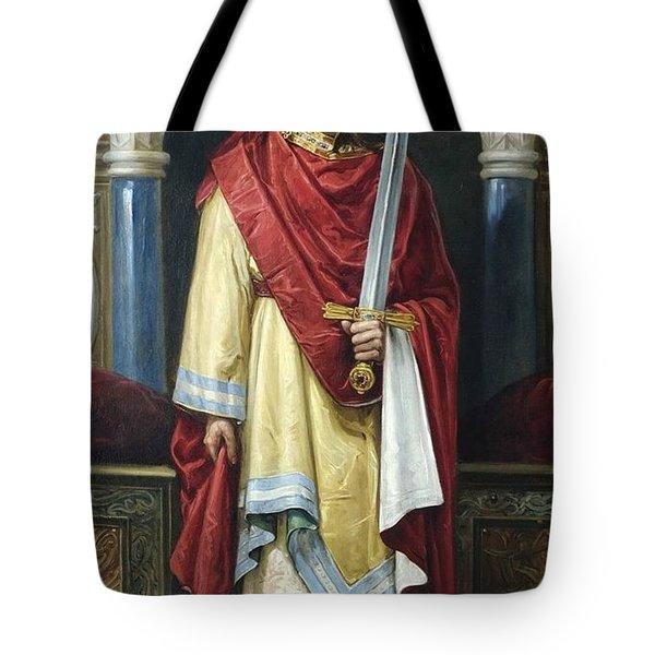 De Castilla  Ideal Portrait Of Juan  Tote Bag