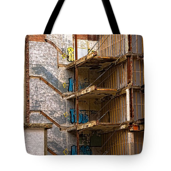 De-construction Tote Bag