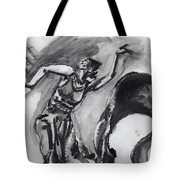 de Lavallade Tote Bag by Howard Barry