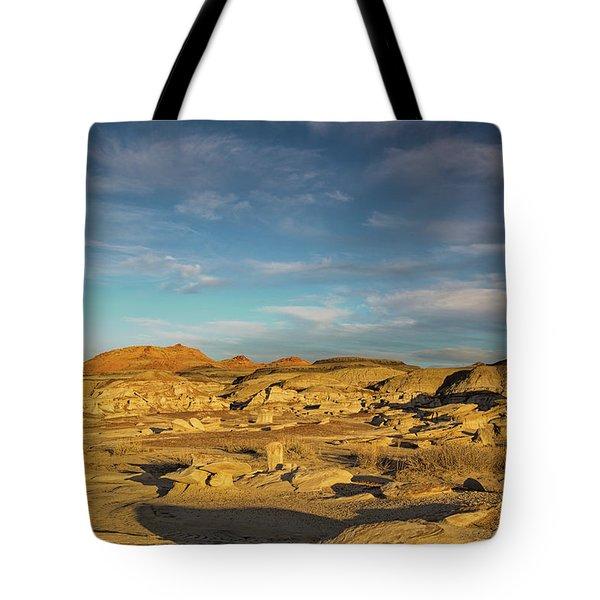 De Na Zin Wilderness Sunset Tote Bag