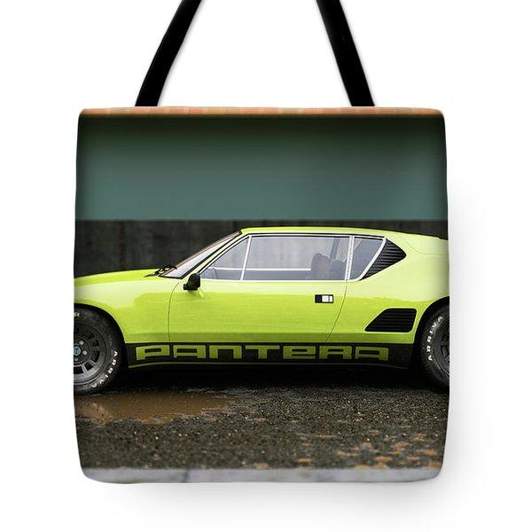 De Tomaso  - Pantera 1 - Cgi -71 Tote Bag