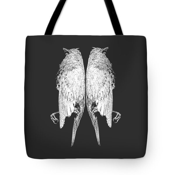 Dead Birds Tee White Tote Bag