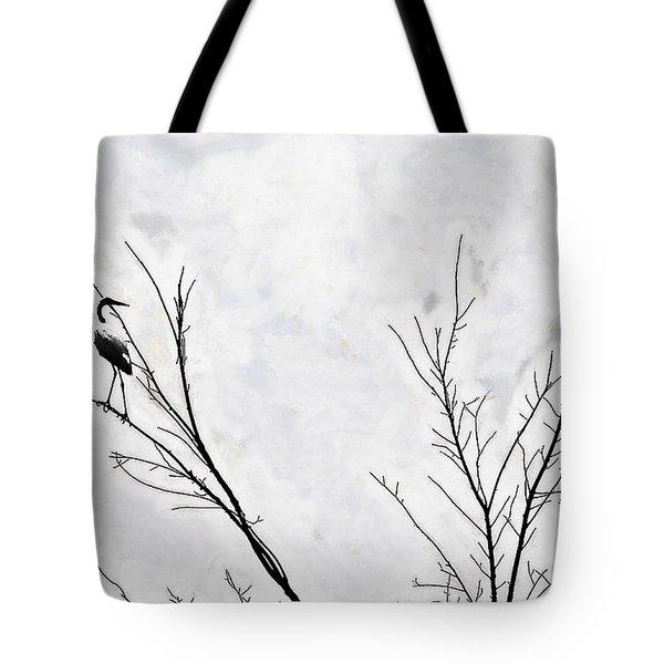 Dead Creek Cranes Tote Bag