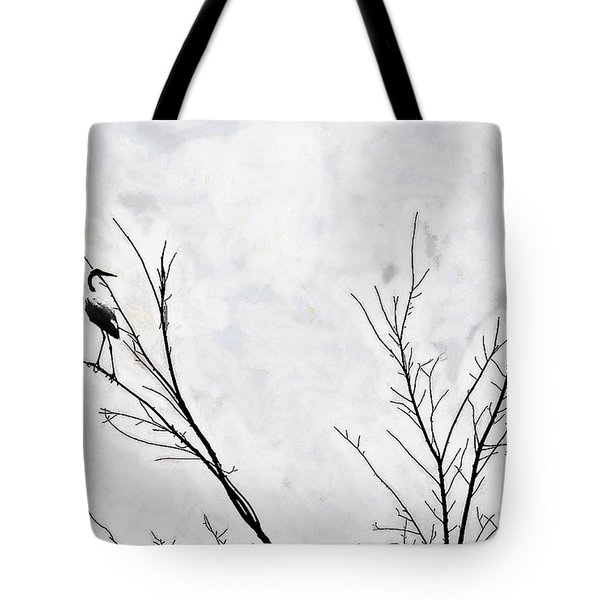Dead Creek Cranes Tote Bag