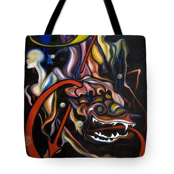 Dead Dog Tote Bag by Sheridan Furrer
