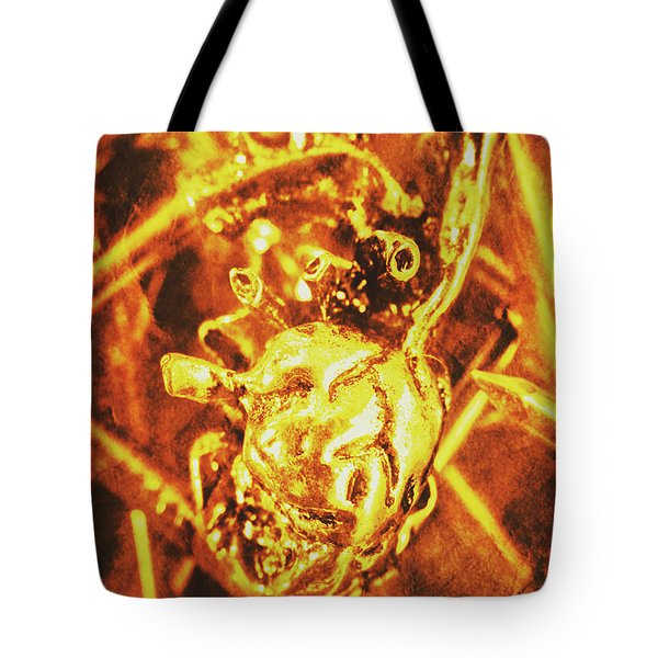 Dead Heart Of Transhumanism Tote Bag