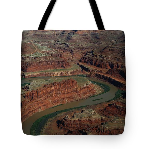 Dead Horse Point From The Air Tote Bag