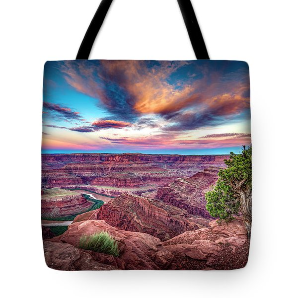 Dead Horse Point At Sunrise Tote Bag