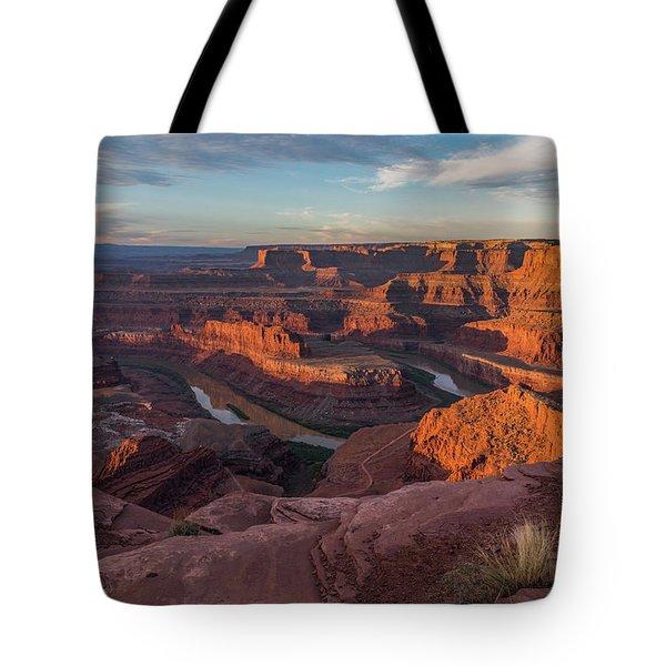 Dead Horse Point Sunrise Tote Bag