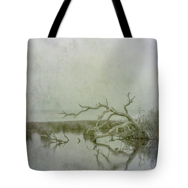 Tote Bag featuring the digital art Dead In The Water by Randy Steele