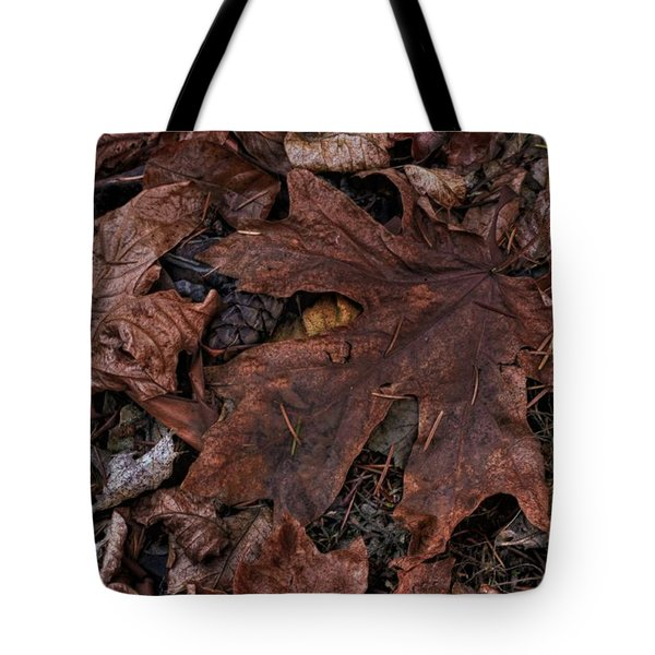 Dead Leaves Tote Bag