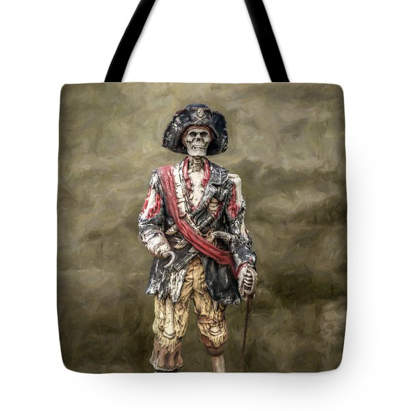Dead Men Tell No Tales Tote Bag by Randy Steele