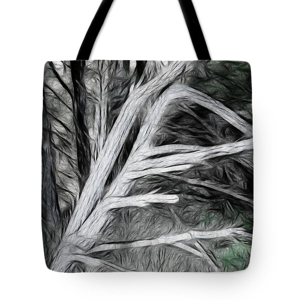 Tote Bag featuring the photograph Dead Pine by Hugh Smith