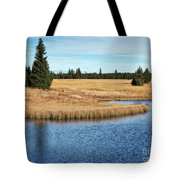 Dead Pond In Ore Mountains Tote Bag by Michal Boubin