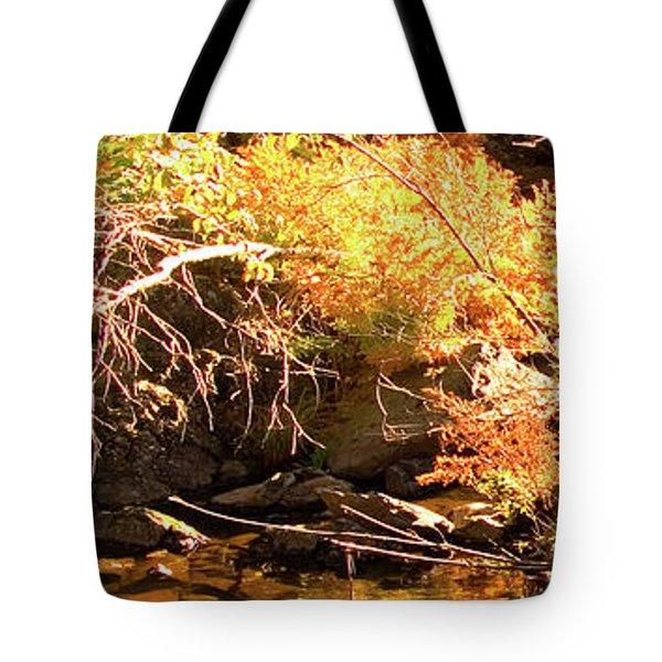2 Of 6 Dead River Falls  Marquette Michigan Section Tote Bag