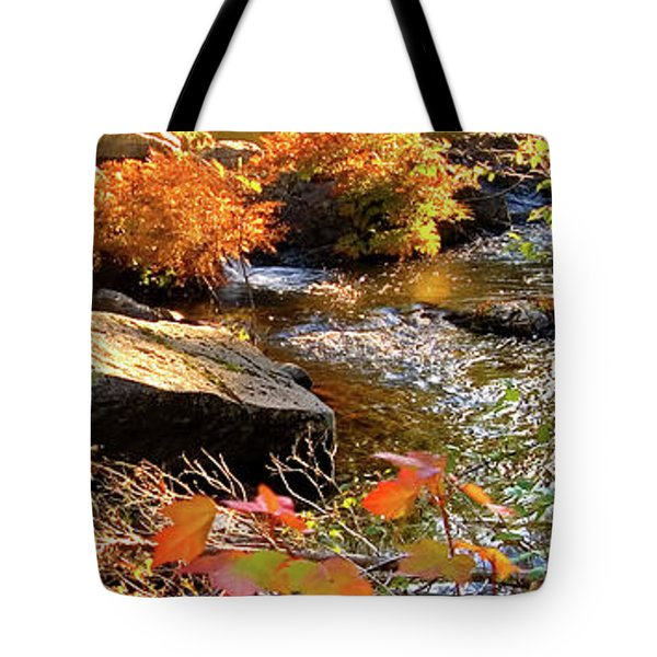 4 Of 6 Dead River Falls  Marquette Michigan Section Tote Bag
