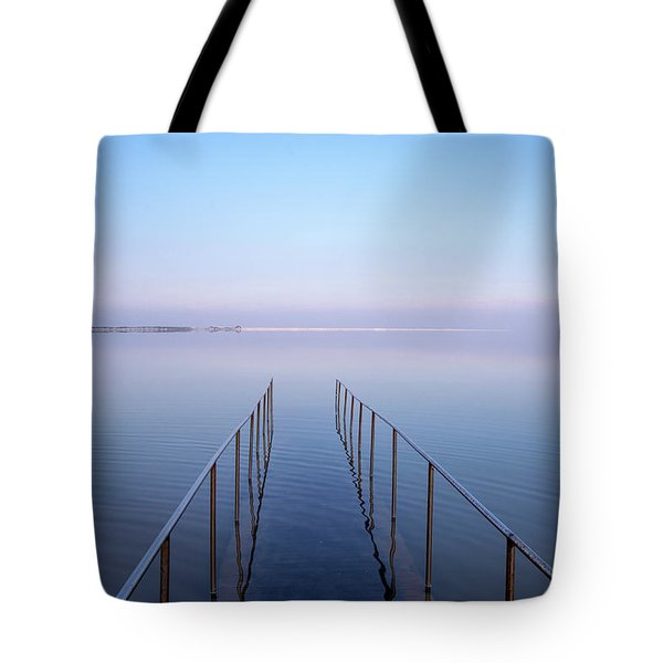 Tote Bag featuring the photograph The Dead Sea by Yoel Koskas