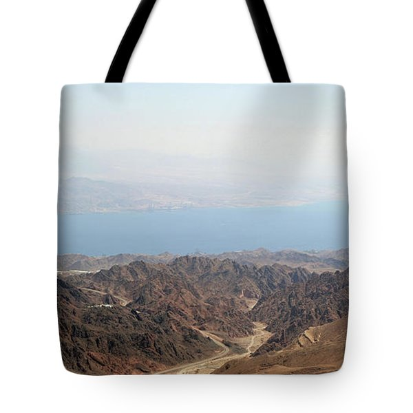Dead Sea-israel Tote Bag by Denise Moore