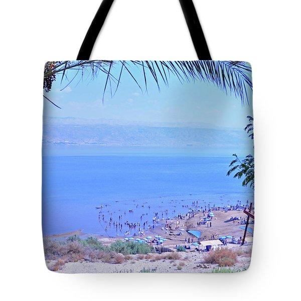 Dead Sea Overlook 2 Tote Bag