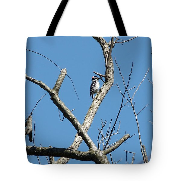 Tote Bag featuring the photograph Dead Tree - Wildlife by Donald C Morgan