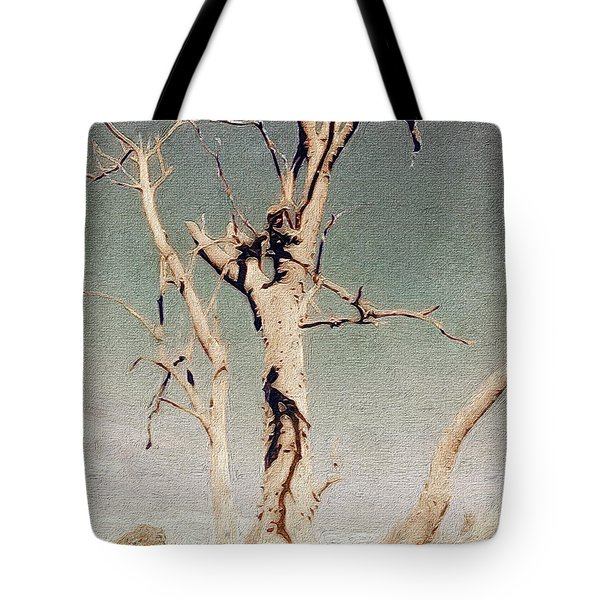 Dead Tree, Outback. Tote Bag