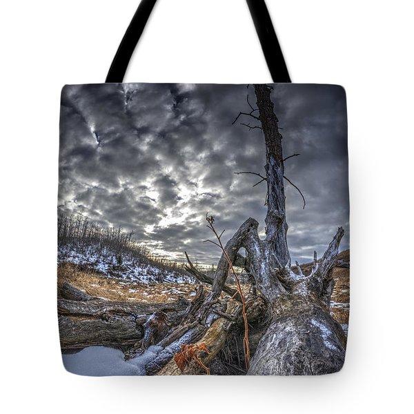 Dead Tree Tote Bag