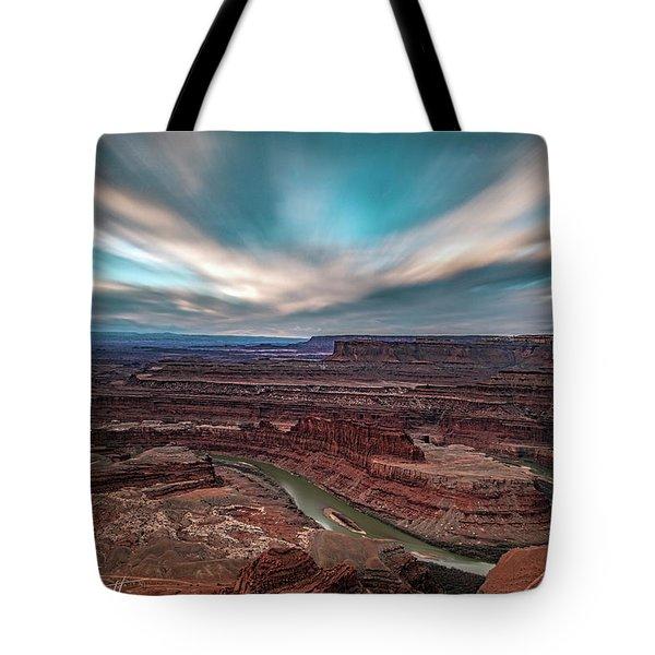Deadhorse Point Sunrise Tote Bag