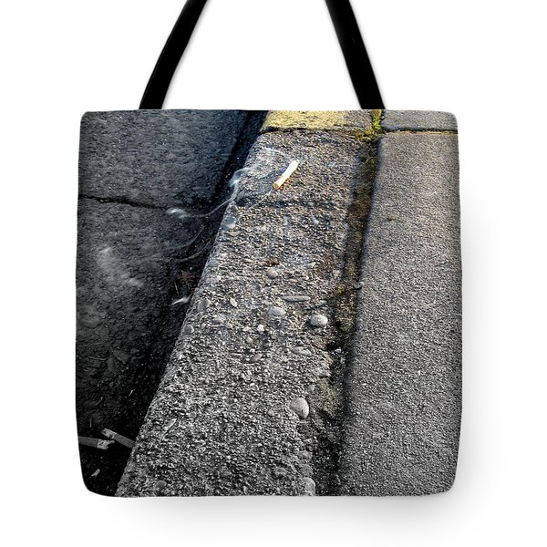 Tote Bag featuring the photograph Deadly Smoke by Marie Neder