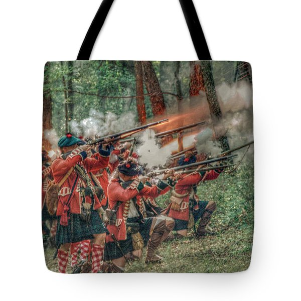 Deadly Volley  Tote Bag