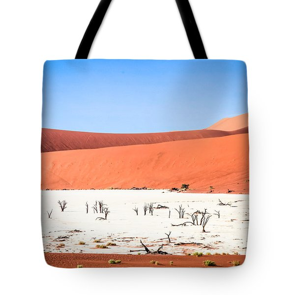Tote Bag featuring the photograph Deadvlei 2 by Gregory Daley  PPSA