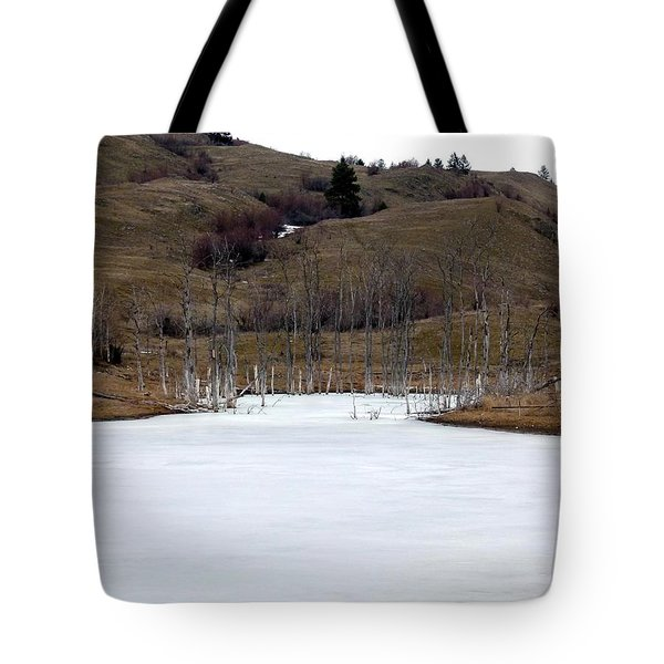 Deadwood Inlet Tote Bag by Will Borden
