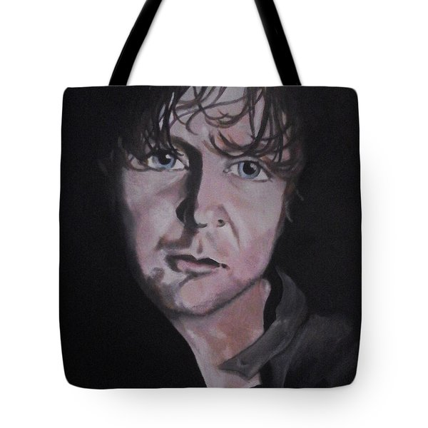 Tote Bag featuring the painting Dean Ambrose Portrait by Susan Solak