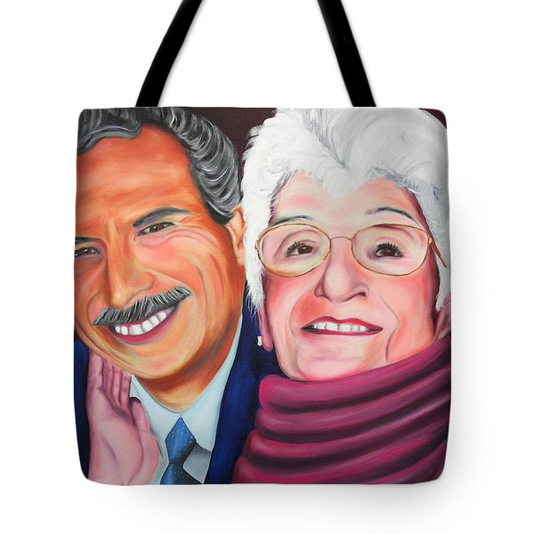 Dean And Frances Tote Bag