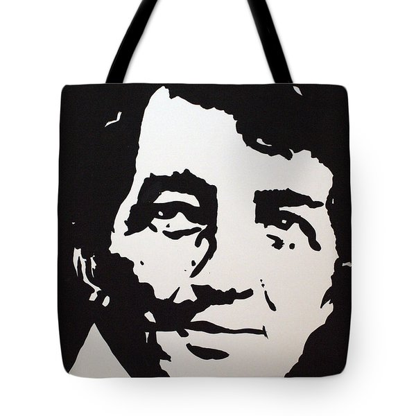 Dean Martin Loving Life Tote Bag by Robert Margetts