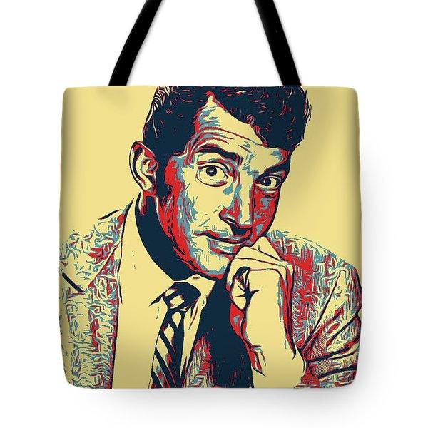 Dean Martin Poster Art Tote Bag