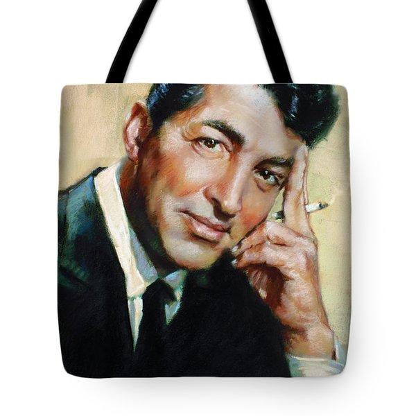 Dean Martin Tote Bag by Ylli Haruni