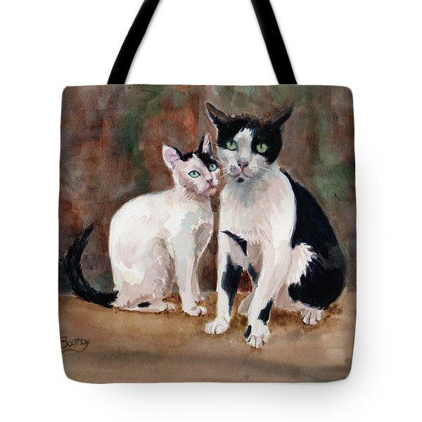 Deano And Sparky Tote Bag