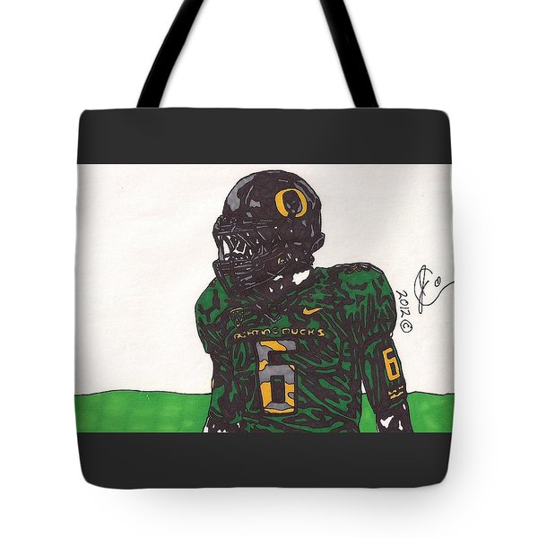 De'anthony Thomas 2 Tote Bag by Jeremiah Colley