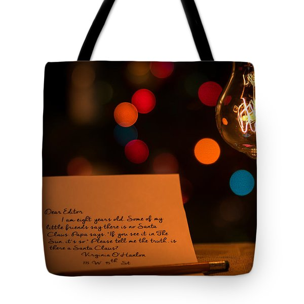 Dear Editor Tote Bag by Chris Bordeleau