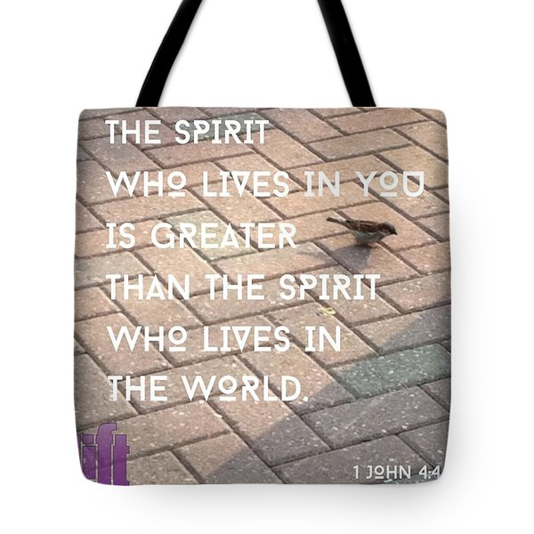 Dear Friends, Do Not Believe Everyone Tote Bag