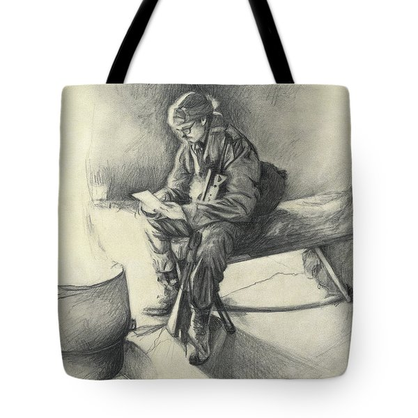 Letter From Home Tote Bag